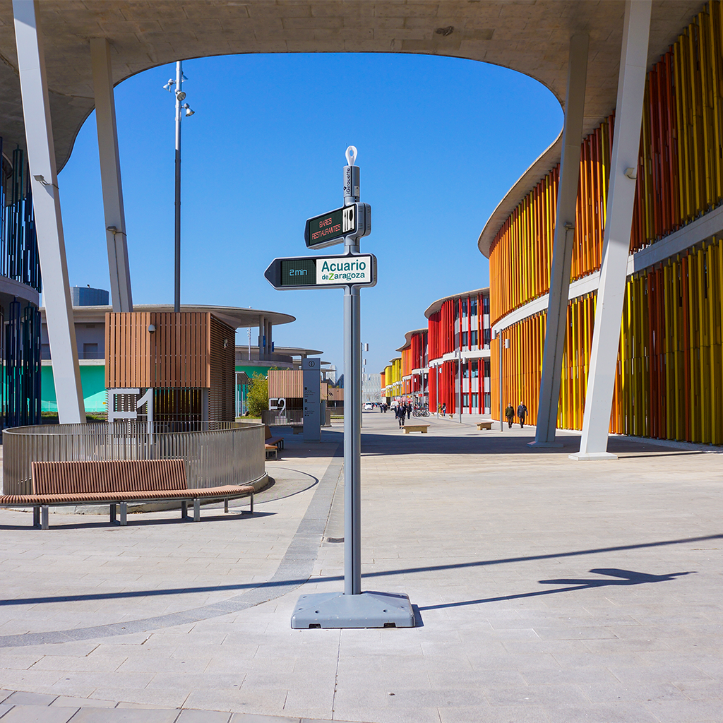 Spain: <strong>iGirouette®</strong> set up in the city of Zaragoza