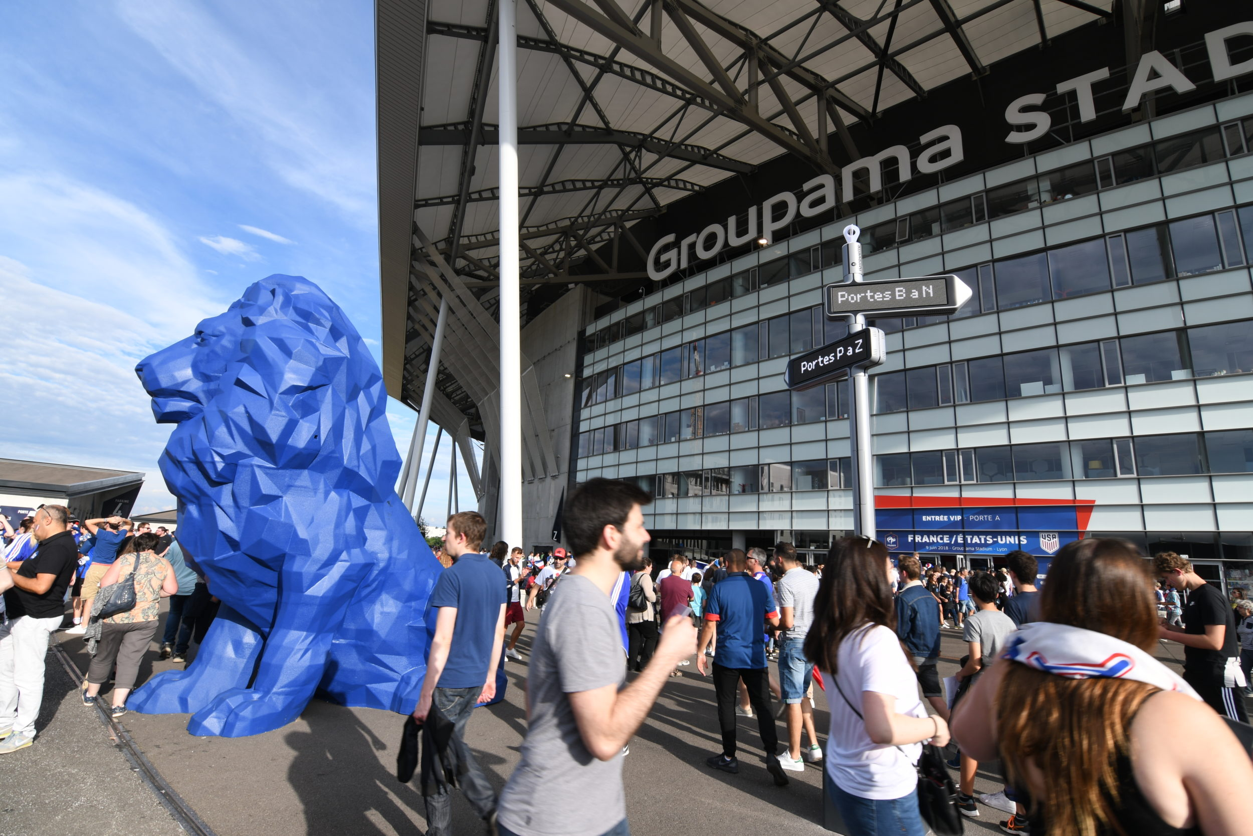 <strong>iGirouette® </strong>joins the team at the Groupama Stadium
