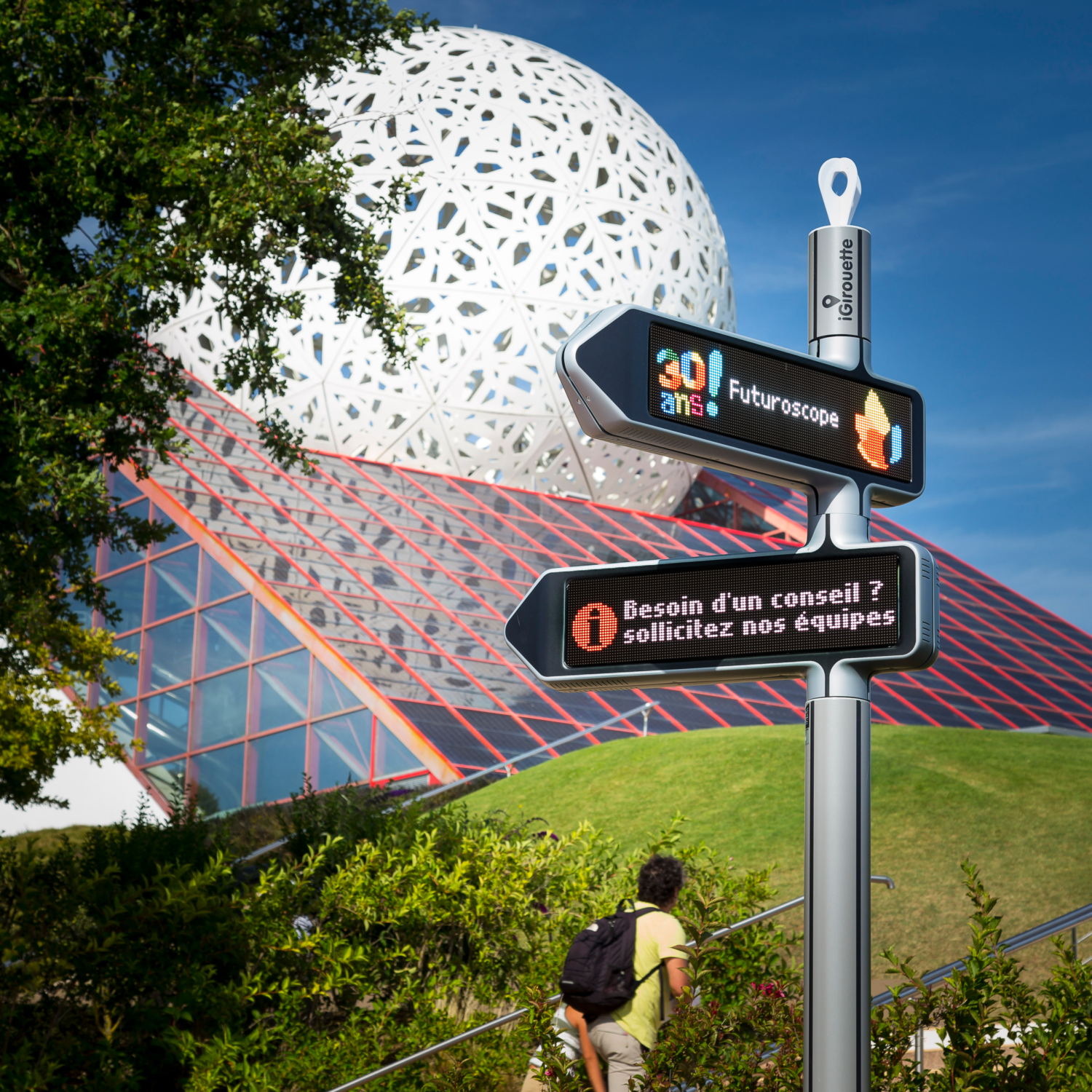 <strong>iGirouette® </strong>at Futuroscope
