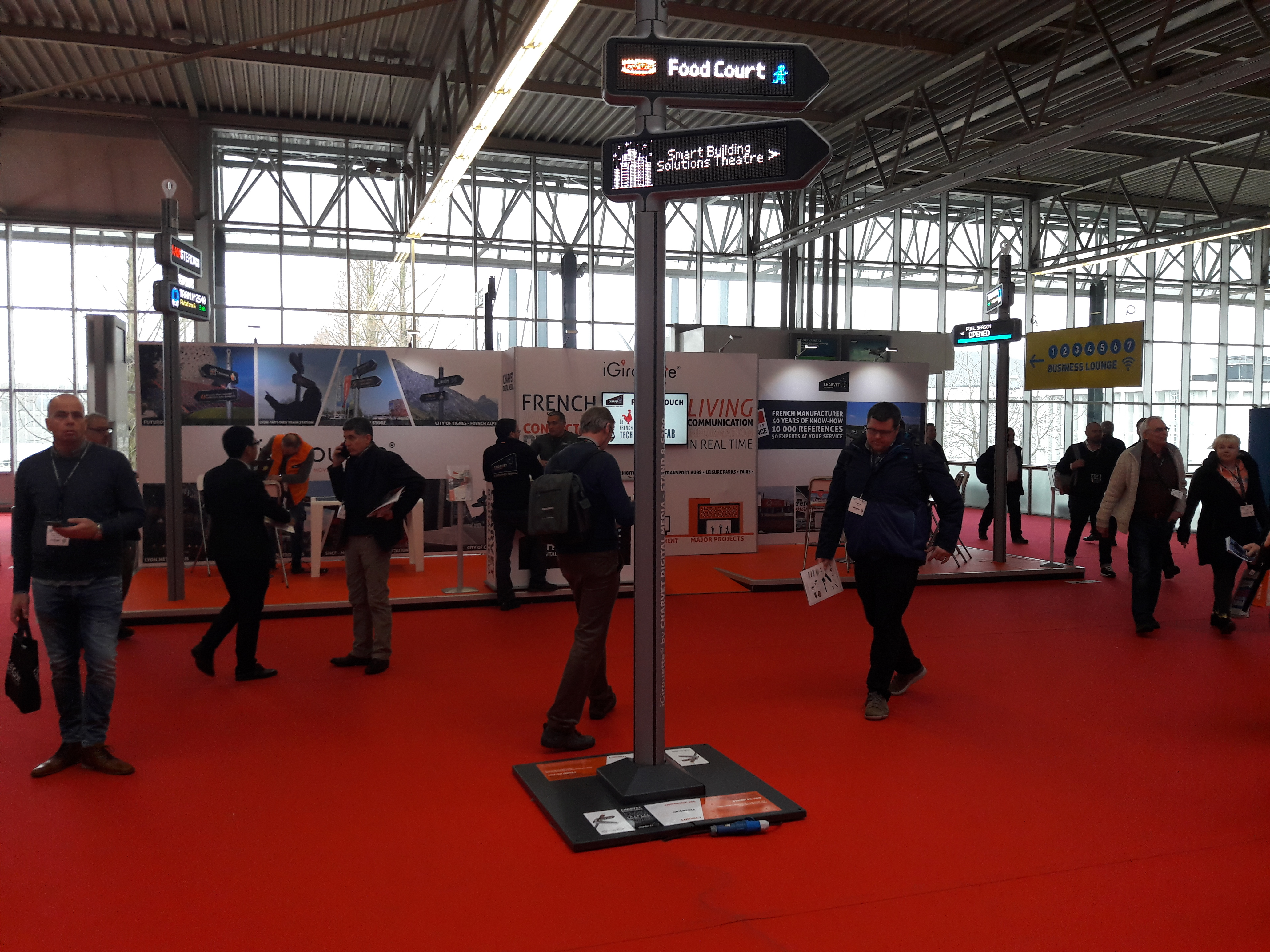 iGirouette® at the ISE show (Integrated Systems Europe)