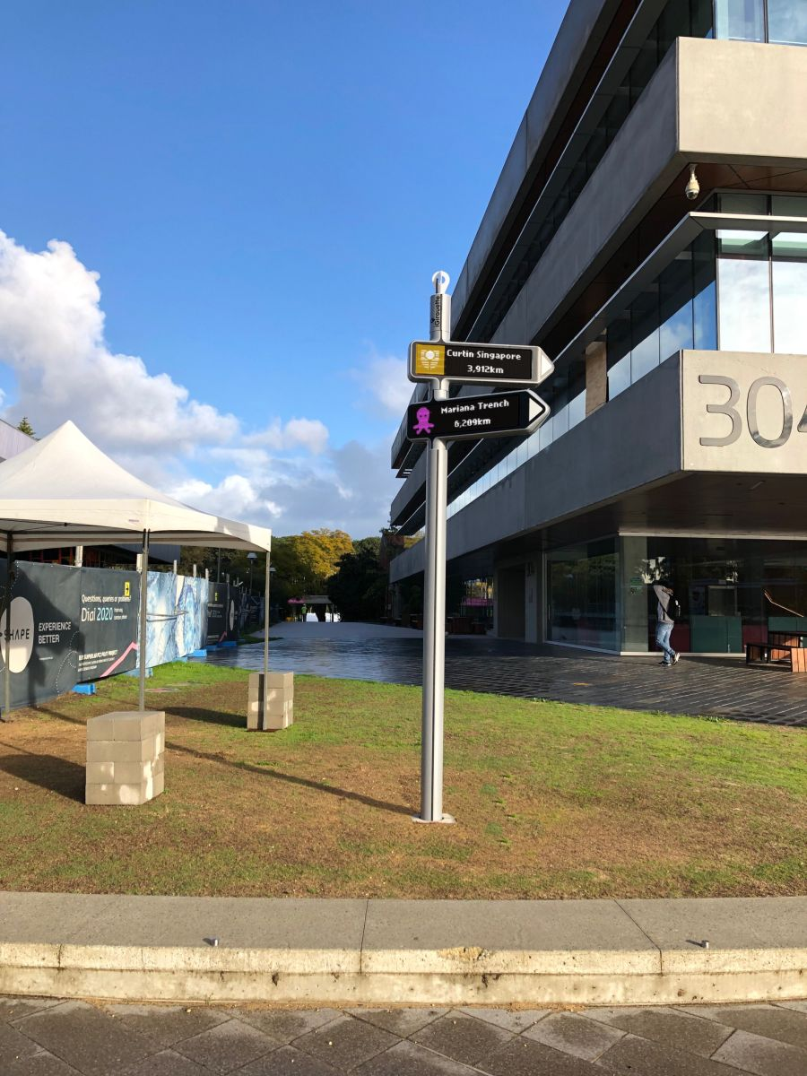 Australia: <strong>iGirouette®</strong>goes to the Curtin University!