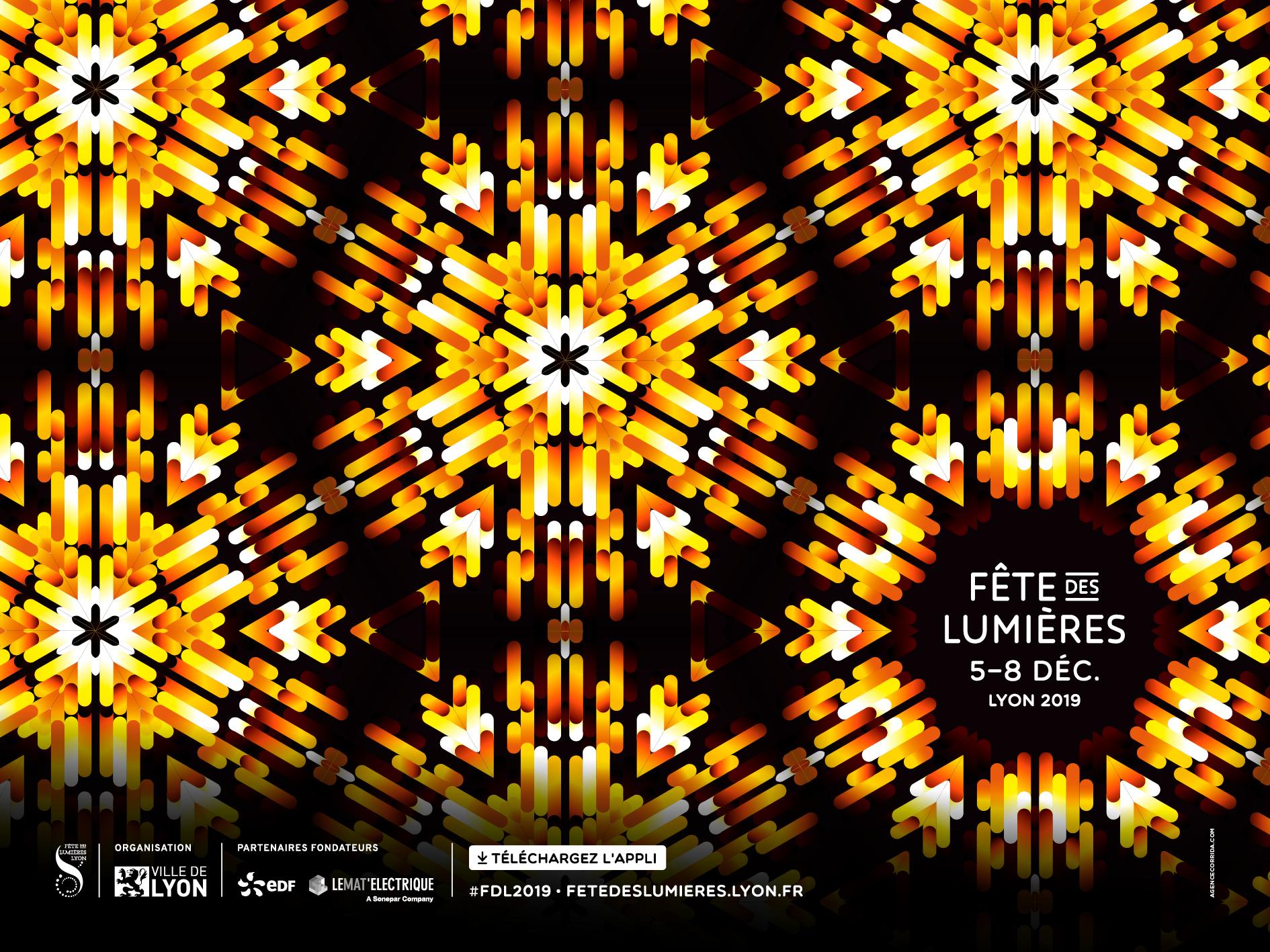Charvet official partner of the Festival of Lights in Lyon