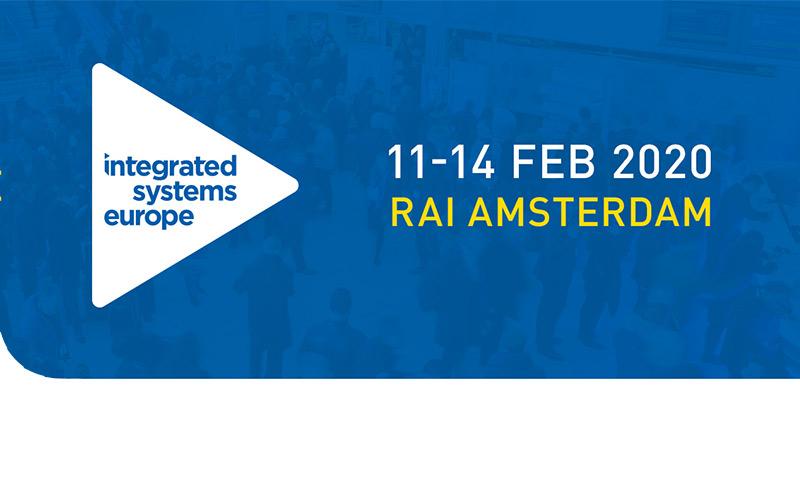 Retrouvez-nous au <strong>salon ISE 2020</strong> à Amsterdam